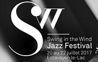 Swing in the Wind Jazz Festival Logo