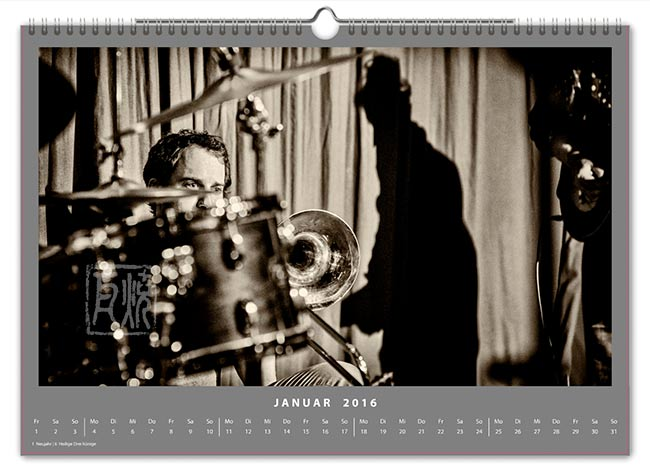 Jazzkalender 2016 - Nils Wogram