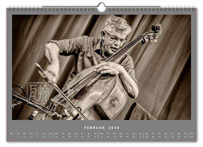 Jazzkalender 2016 - Wilbert de Joode