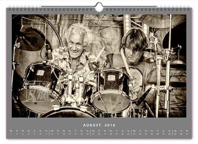 Jazzkalender 2016 - Mani Neumeier Stef Bollack