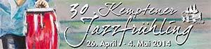 Kemptener Jazzfrühling 2014 Logo