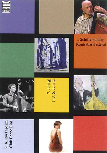 Schifferstadt Kontrabassfestival mit Sebastian Gramss und Barre Phillips