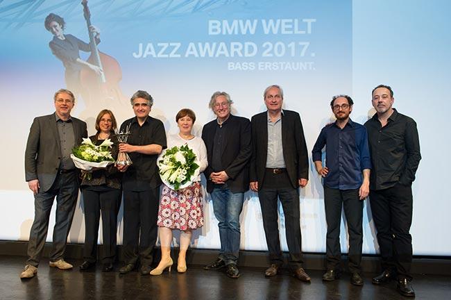 BMW Welt Jazz Award 2017 an Renaud Garcia-Fons