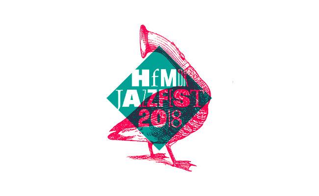 Jazzfest hdfmdk Frankfurt logo