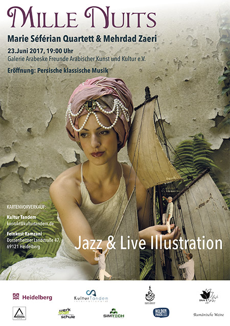 Mille Nuits - Seferian Quartett Zaeri - Kulturtandem