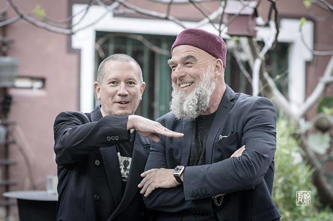 Chris Jarret und Erwin Ditzner - Foto: Frank Schindelbeck Jazzfotografie