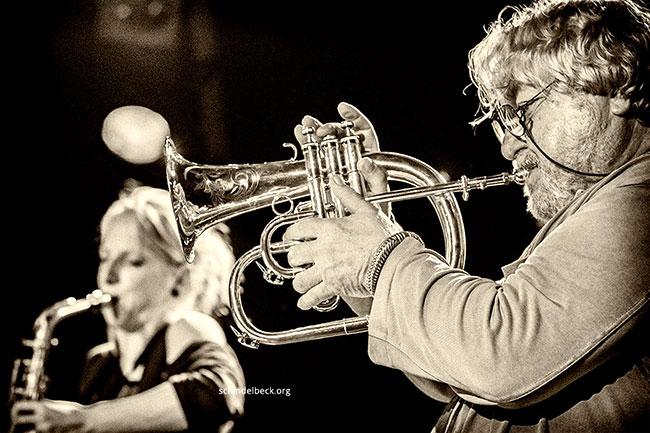 Herbert Joos - Alexandra Lehmler - Foto: Frank Schindelbeck