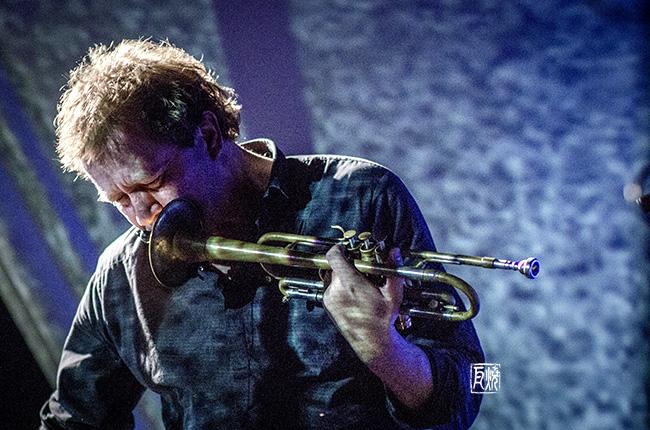 Photo des Trompeters Nils Petter Molvaer