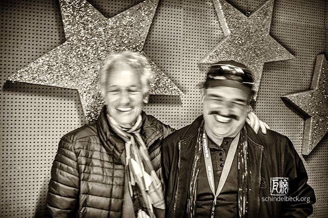 Mani Neumeier + Werner Goos by Frank Schindelbeck Jazzfotografie