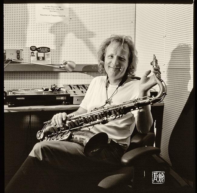 Peter Lehel 2003 - Foto: Frank Schindelbeck