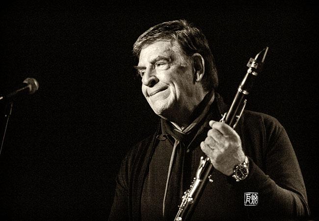 Foto: Klarinettist Rolf Kühn by Frank Schindelbeck