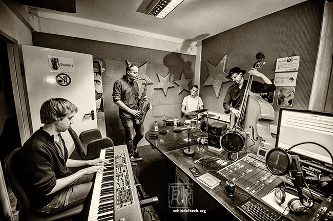 Sander Baan Quartet - Live im Bermudafunkstudio - Photo Schindelbeck