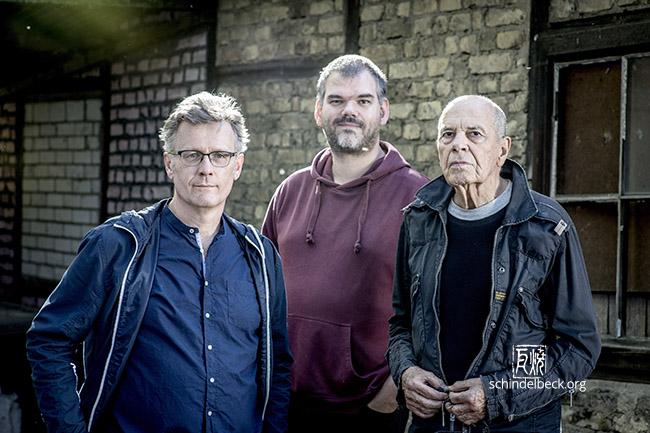 Gruppenfoto Heinz Sauer, Uwe Oberg, Jörg Fischer - Foto