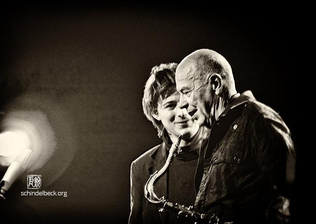 Heinz Sauer und Michael Wollny by Frank Schindelbeck Jazzfotografie