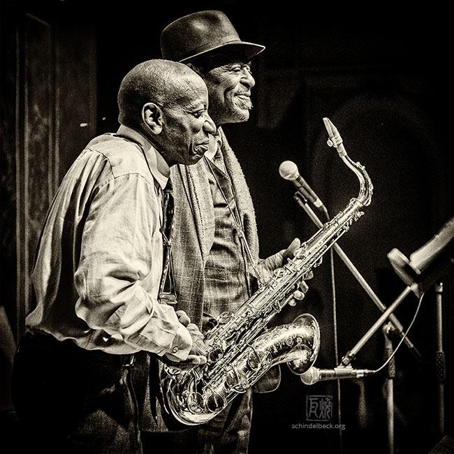 Archie Shepp & Reggie Workmann - Photo: Frank Schindelbeck