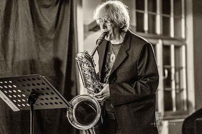 Wollie Kaiser by Frank Schindelbeck Jazzfotografie