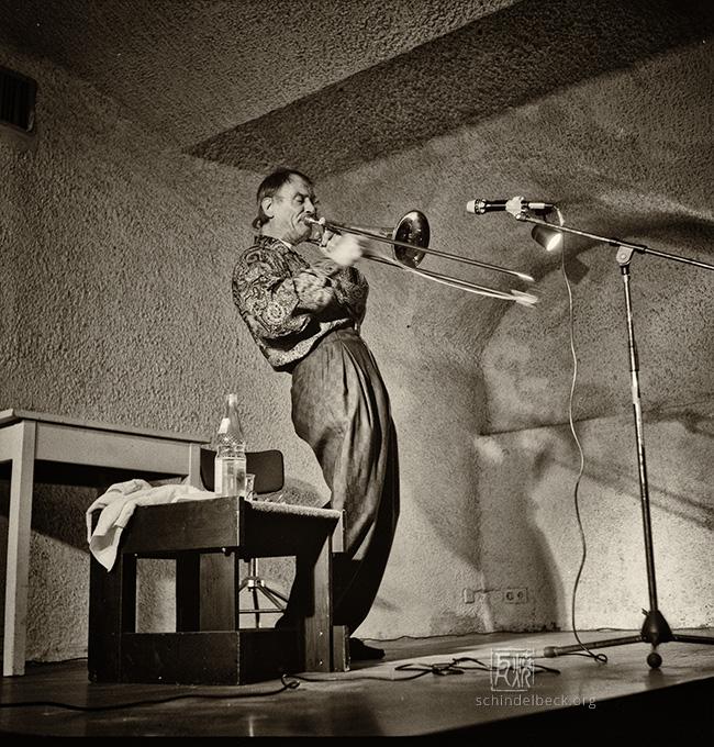 Albert Mangelsdorff by Frank Schindelbeck Jazzfotografie