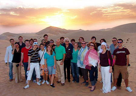Jugendjazzorchester Baden-Württemberg in Abu Dhabi - Foto: Hans Kumpf
