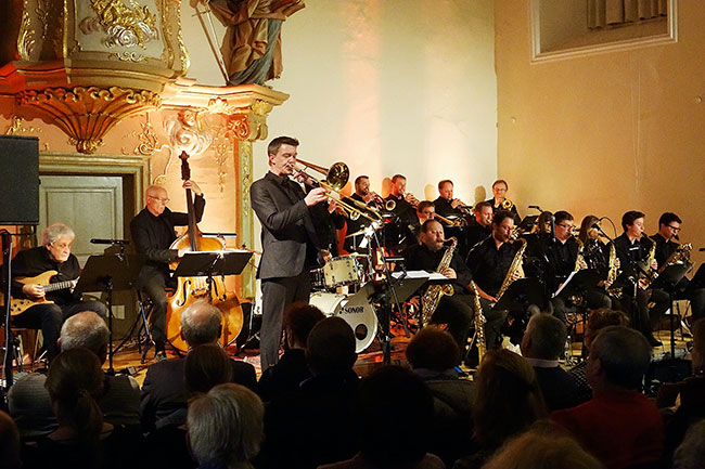 Bigband Schwäbisch Hall - Foto: Hans Kumpf