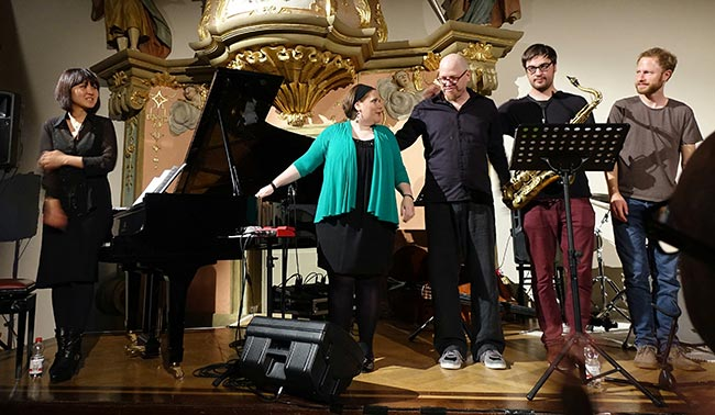 Barbara Bürkle Quartett - Foto: Kumpf