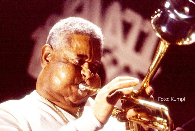 Dizzy Gillespie - Foto: Hans Kumpf