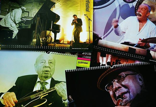 Jazzkalender 2016 von Hans Kumpf