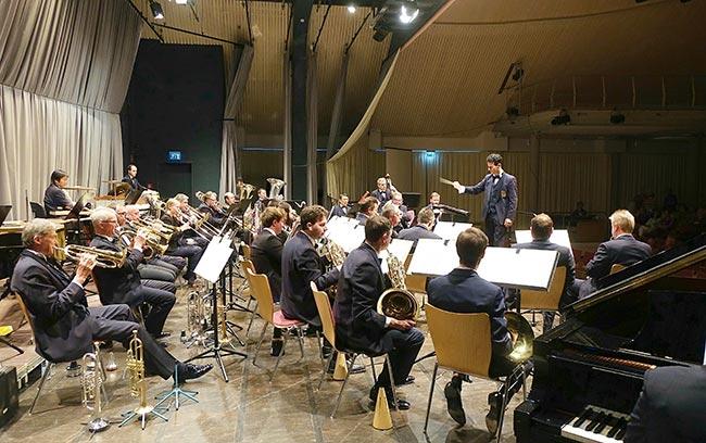 Polizeiorchester in Schwäbisch Hall - Foto: Kumpf