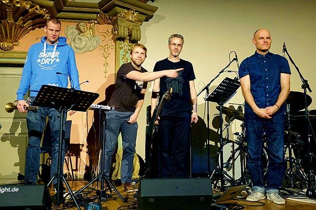 Shredz Quartett - Foto: Hans Kumpf