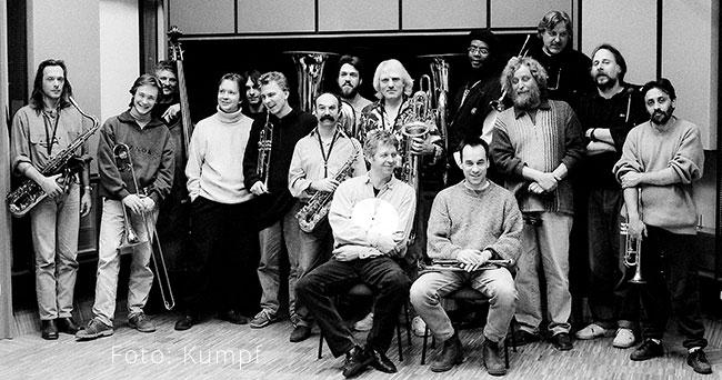 Uwe Werner (links) mit Südpool - Foto: Kumpf