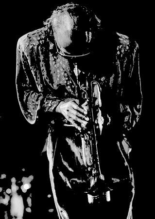 Miles Davis Foto von Hans Kumpf