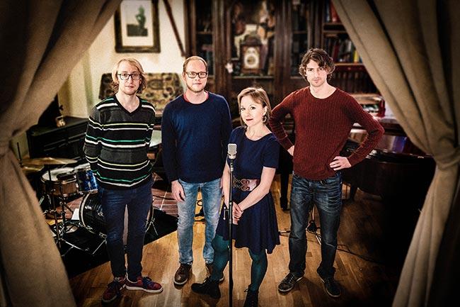 Tamara Lukasheva Quartet Foto