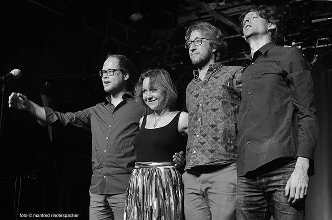 Tamara Lukasheva Quartett - Rinderspacher