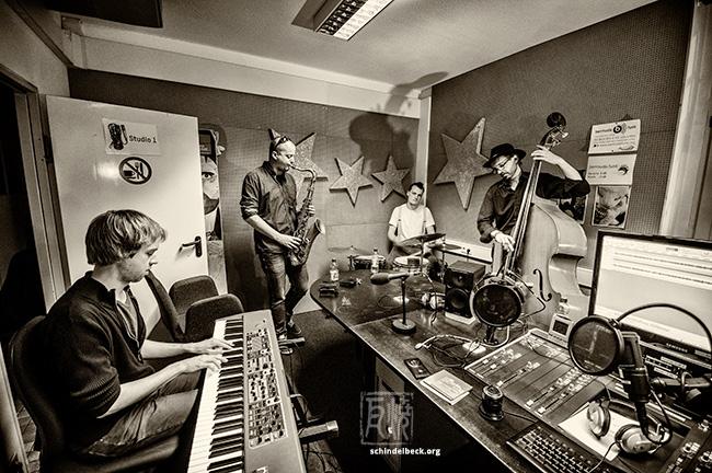 Sander Baan Quartet bei Jazzology im Bermudafunk 2015 - Photo: Schindelbeck
