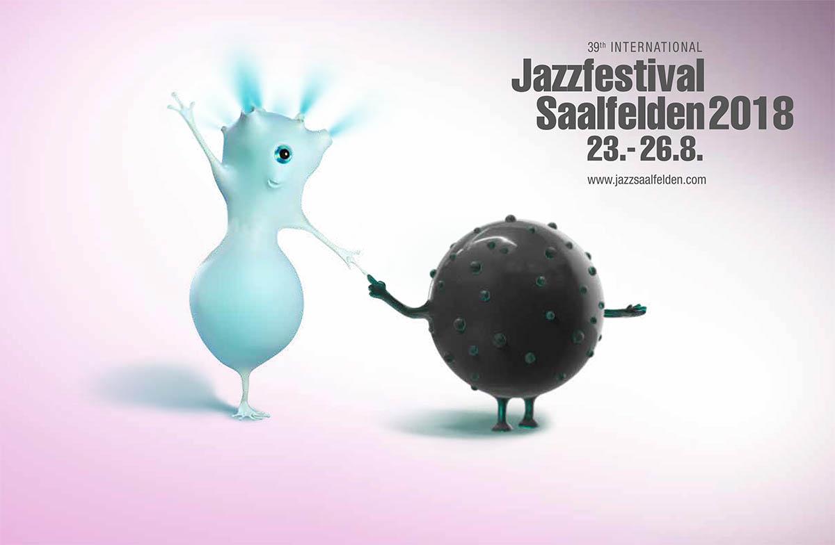 Jazzfestival Saalfelden 2018 Logo