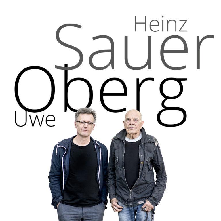 Heinz Sauer + Uwe Oberg - Foto: Schindelbeck