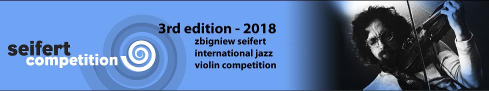 Zbigniew Seifert Competition Logo 2018