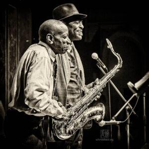 Archie Shepp, Reggie Workman - Photo: Frank Schindelbeck Jazzfotografie