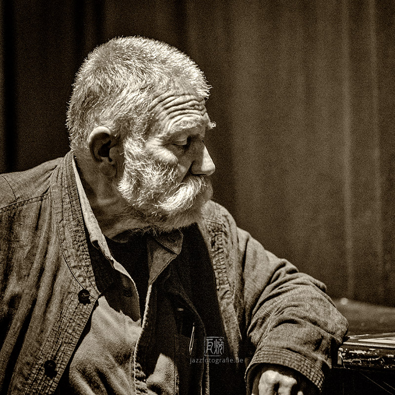 Brötzmann - Photo: Schindelbeck Jazzfotografied