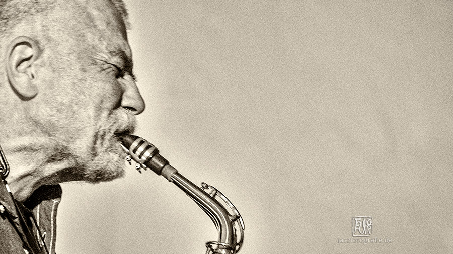 Peter Brötzmann - Photo: Schindelbeck Jazzfotografie