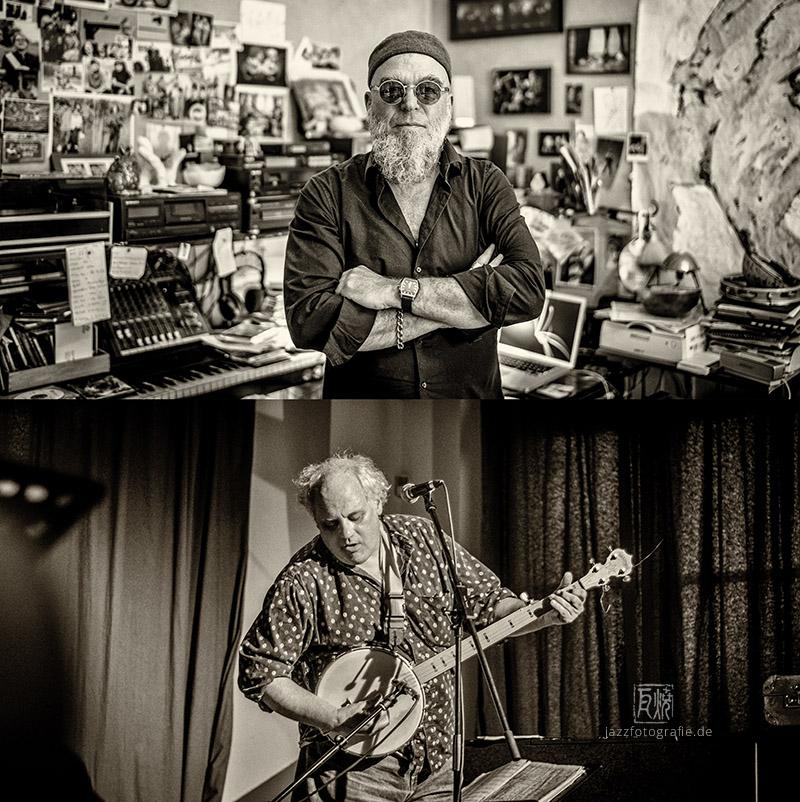 Erwin Ditzner / Eugene Chadbourne - Photos: Schindelbeck