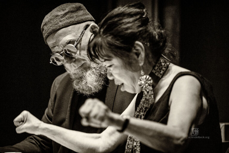 Aki Takase / Erwin Ditzner - Photo: Frank Schindelbeck