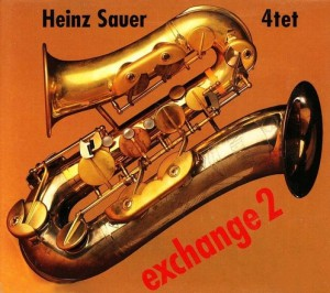 Heinz Sauer 4tet - Exchange 2 - Cover