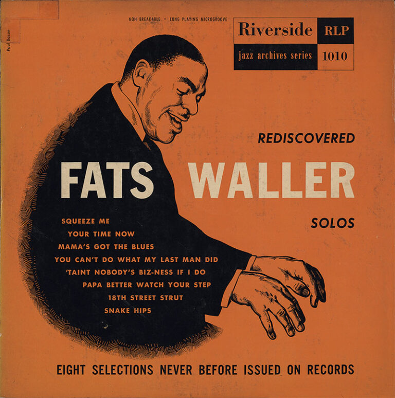 Fats Waller - LP-Cover