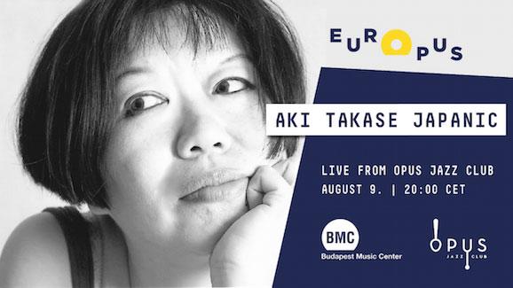 Aki Takase Livestream Banner