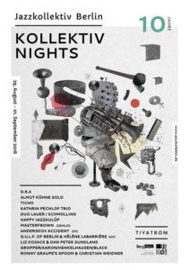 Jazzkollektiv Berlin - Kollektiv Nights 2018 - Plakat