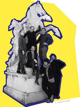 Jazzwerkstatt Wien mit Denkmal