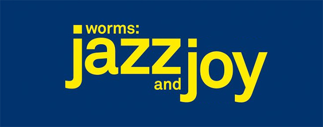 Jazz & Joy Worms - Logo