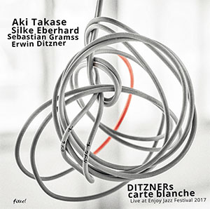 Ditzner Carte Blanche - Takase, Eberhard, Gramss - Live At Enjoy Jazz 2017