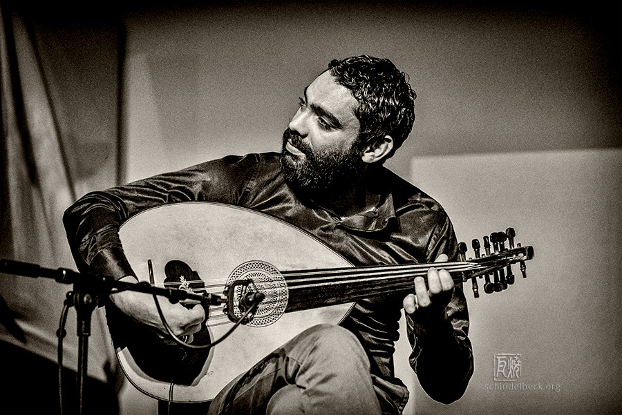 Fadhel Boubaker - Beyond Borders Band - Photo: Schindelbeck