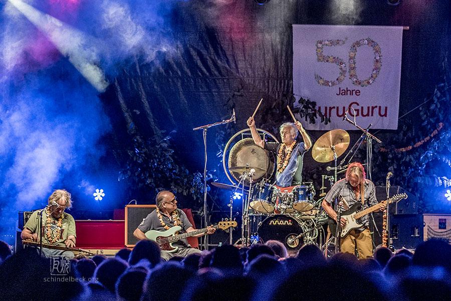 Guru Guru - Finkenbach Festival 2018 - Foto: Frank Schindelbeck